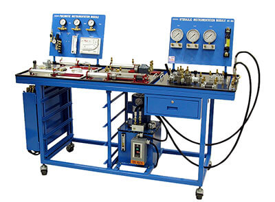Basic Fluid Power Learning System – Single Surface Bench Image