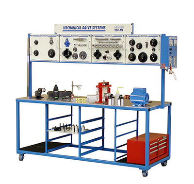 Mechanical Drives 1 Learning System – Full Bench Image