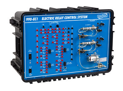 Portable Electric Relay Control Learning System Image