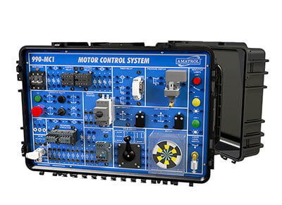 Portable Electric Motor Control Troubleshooting Learning System Image