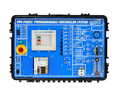 Portable PLC Combined Troubleshooting Learning System – AB CompactLogix L16 Image