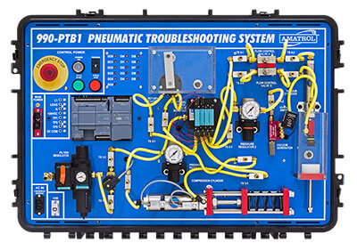 Portable Pneumatic Troubleshooting Learning System Image
