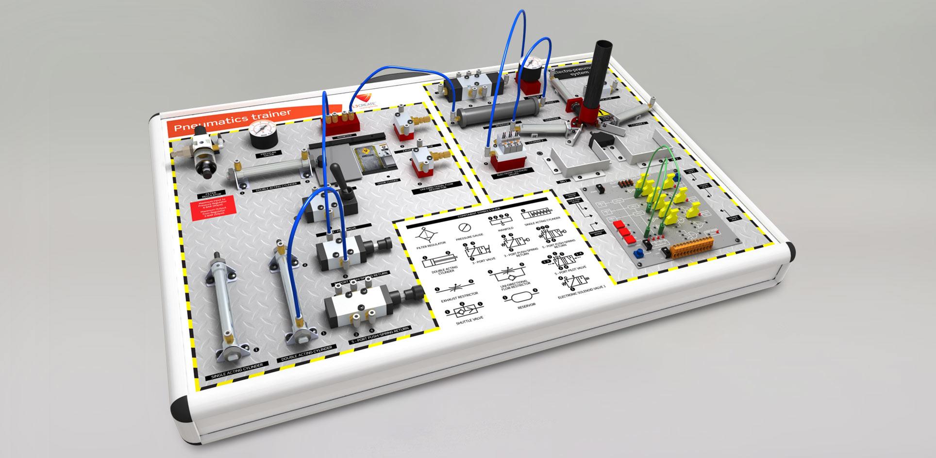 Electro-Pneumatics Trainer Image