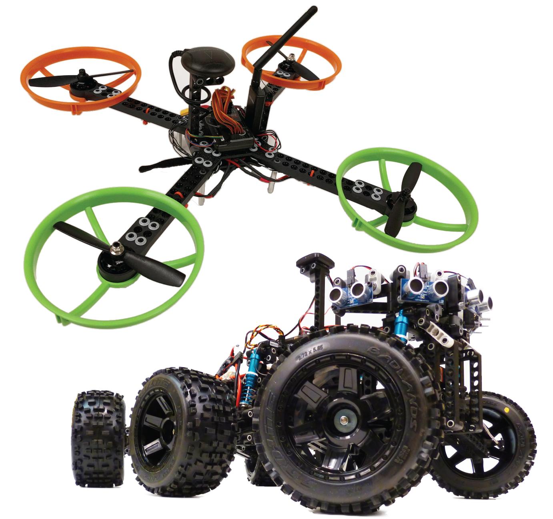 STEM Drones Lab UAV + UGV Image