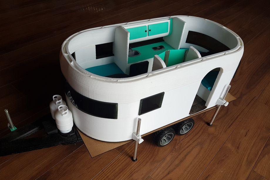 3D printed trailer