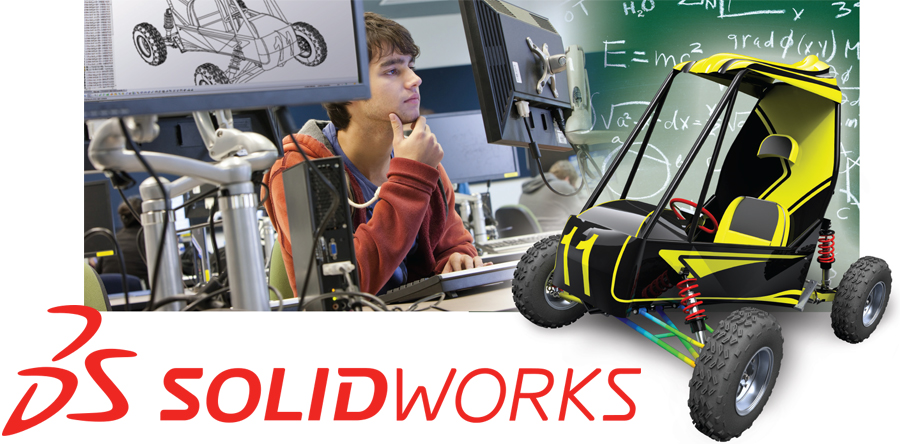 SolidWorks Modeling Software Image