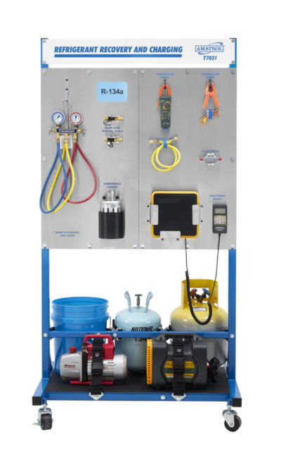 R-134a Refrigerant Recovery & Charging Training System Image