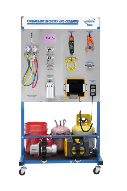 R-410a Refrigerant Recovery & Charging Training System Image