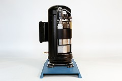 373-130 Hermetic Scroll Refrigeration Compressor Cutaway Image