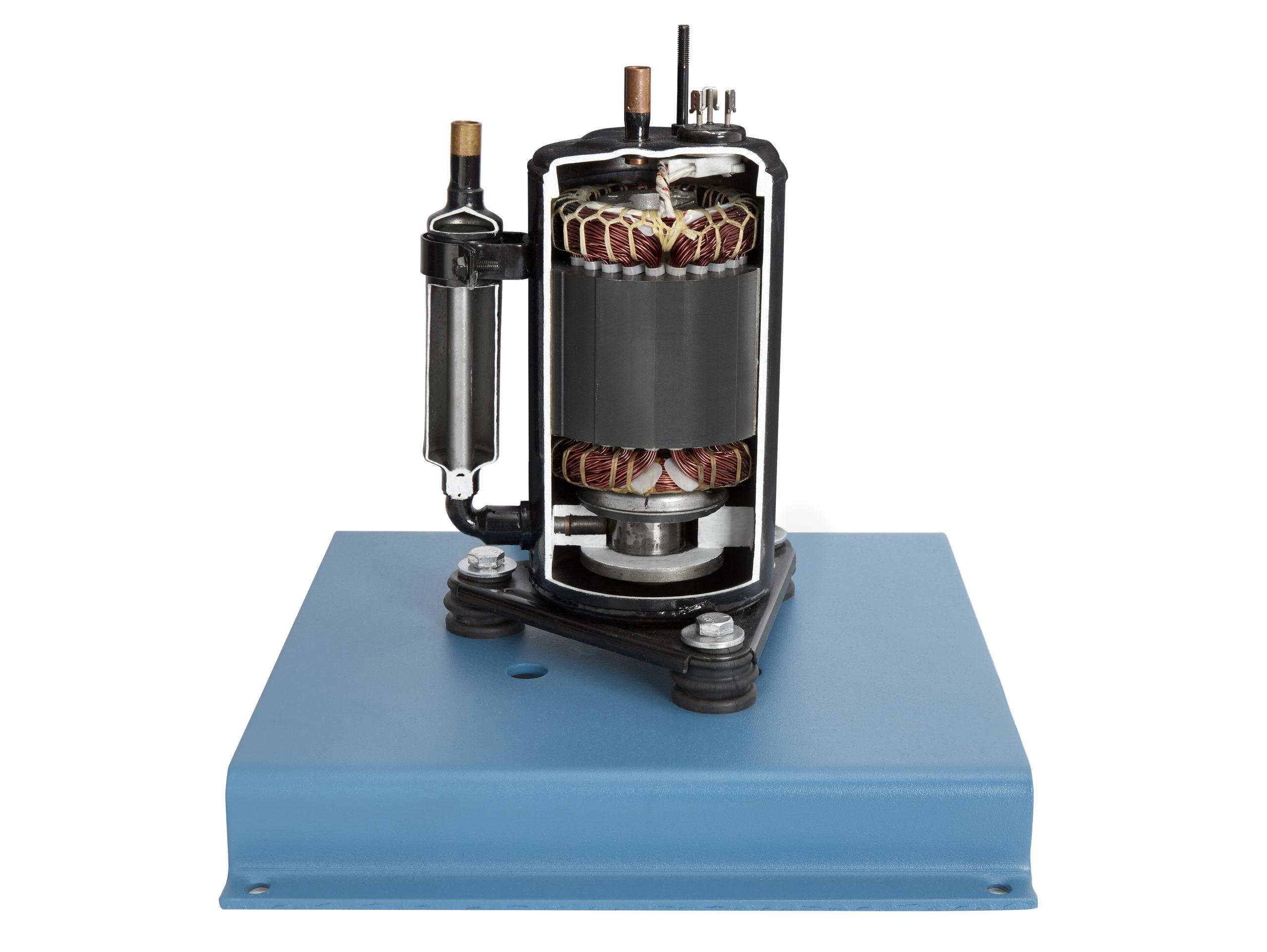 373-160 Hermetic Rotary Compressor Cutaway Image