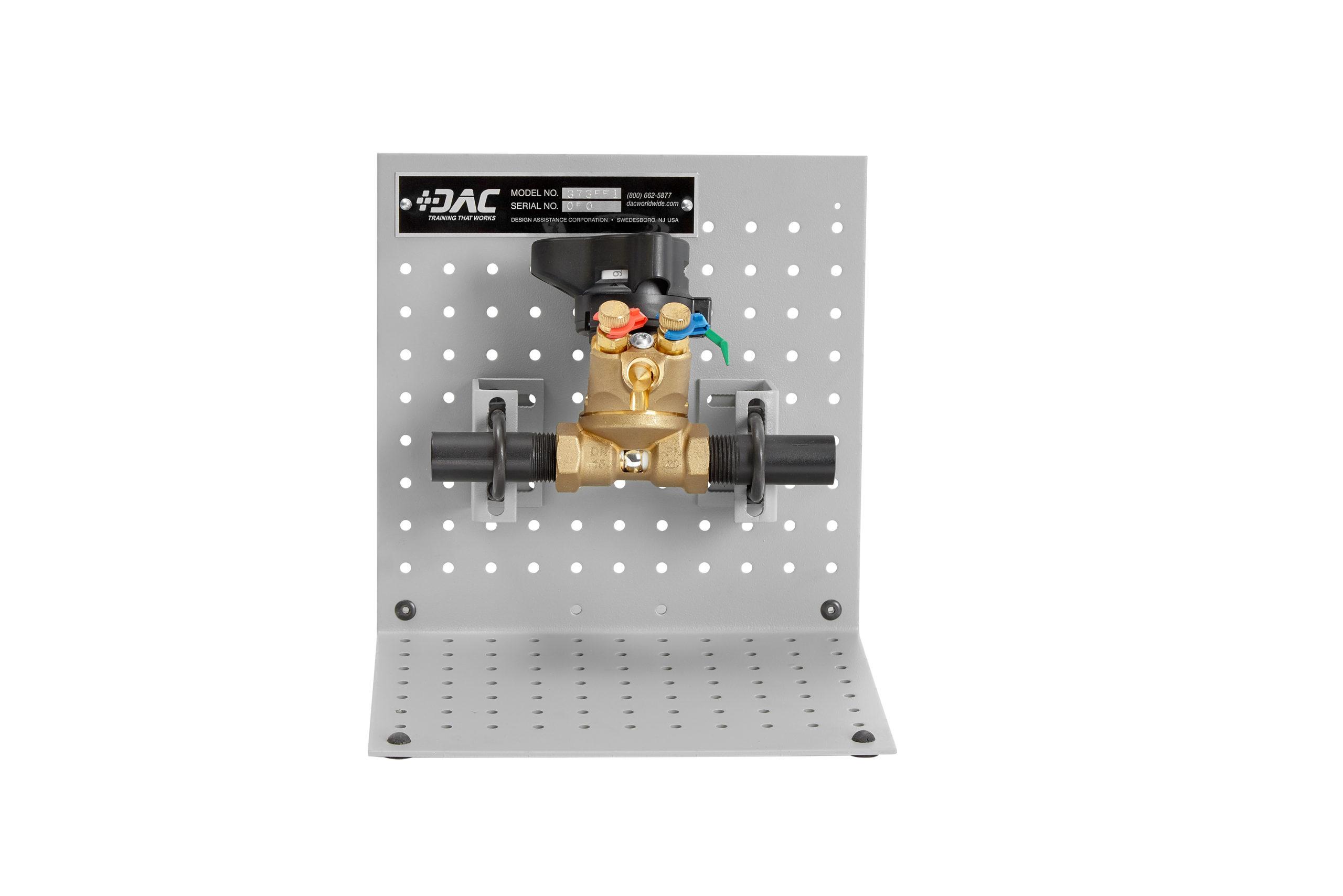 373-551 ACR Manual Balancing Valve Cutaway Image