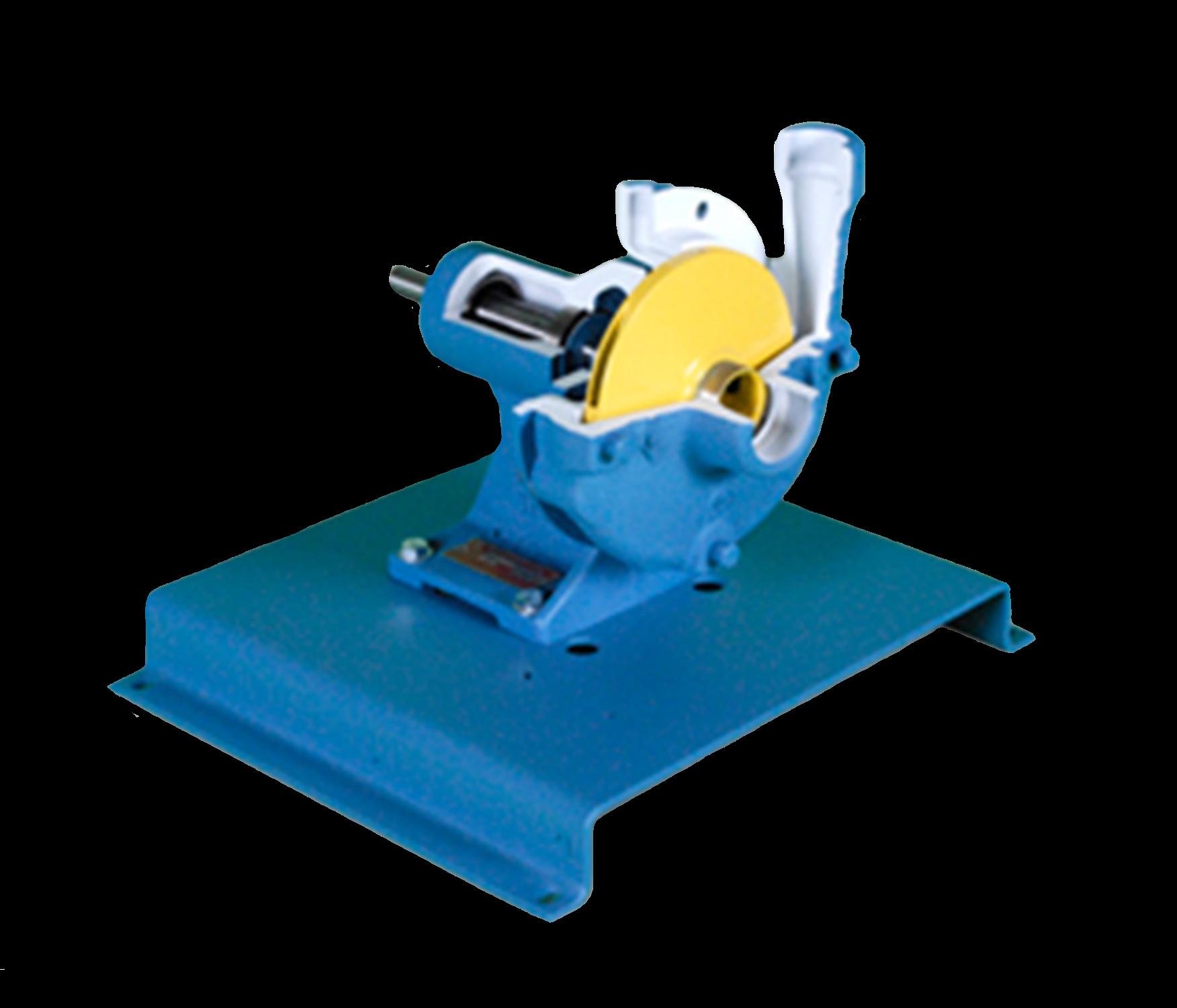 Centrifugal Pump Cutaway Training Image