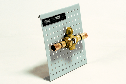 373-501 ACR Steel Ball Valve Cutaway Image