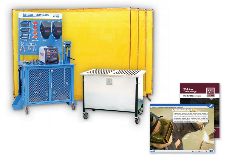 Hands-On Gas Metal Arc Welder Learning System Image